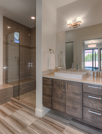 Alpine Bend Master Bathroom